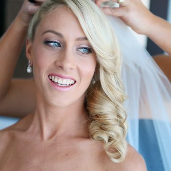 Bridal hair and makeup services Sunshine Coast