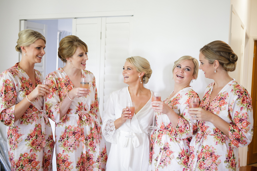 Bridal party makeup and beauty services Sunshine Coast