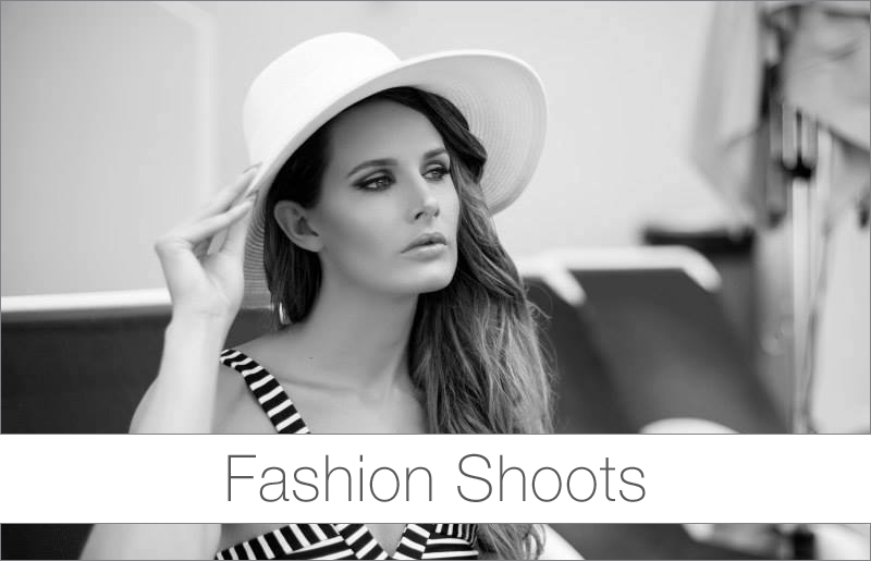 Fashion Shoot beauty styling